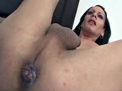 tranny barebacked fucked and sucked enjoy big cock