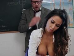 Busty Babe Roxxy Lea Gets Fucked By Teacher