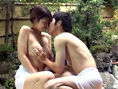 Asiático, Morena, Corrida, Fetiche, Sexo duro, Japonés, Sauna, Tetas