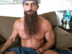 long beard muscular guy solo No. 3