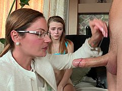 Stepmom joins young-looking couple
