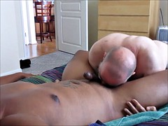 another fine man feeds me his seed.  od video 164