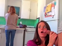 Cutie gets revenge on her roommate for stealing her man