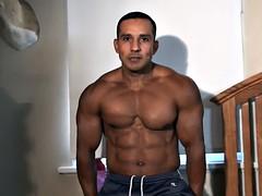 bondage video of muscle hunk