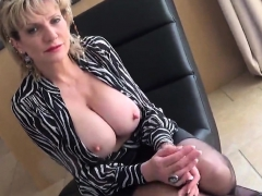 Cheating english mature lady sonia showcases her monster boo