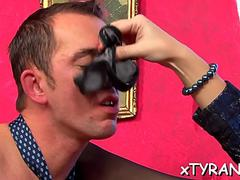 dude gets spanked by mistress film feature 1