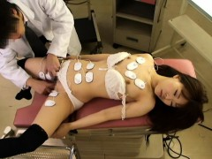 Hot young patient lets her horny doctor shove it up her sli