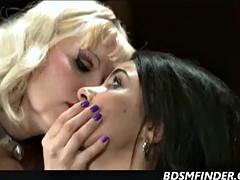 Lesbian Femdom Domination And Spanking