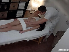 Czech Massage skinny teen