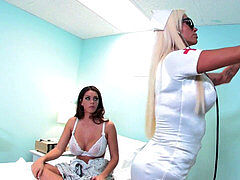 Alison gets seduced by bizarre Russian nurse Nikita