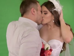 Bride Rides Photographer's Big Dick