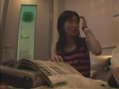 Amazing Japanese chick Aimi Shirase in Hottest Small Tits, Fingering JAV video