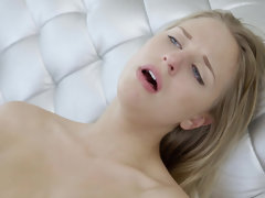 Super hot Lacey Johnson can't stop cumming and squirting all over bbc