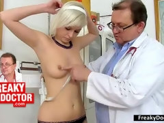 Mazzy Teenage Gets Gynecology Approach and Fetish Medical Center
