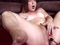 fuckfest MACHINE - orgasm - DEEP intrusion - POV / YOURGYMGIRL