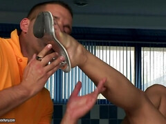 Footsie Aletta Ocean Foot Fetish With Alet