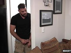 big dick gay threesome with cumshot segment video 1