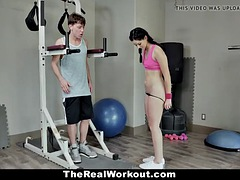 teamskeet - lucky stud fucks fit teen in the gym