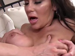 creampied milf dayton rains munching on big hard cock