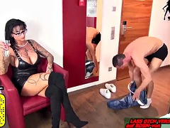real bdsm userdate with german femdom milf face dido fetish